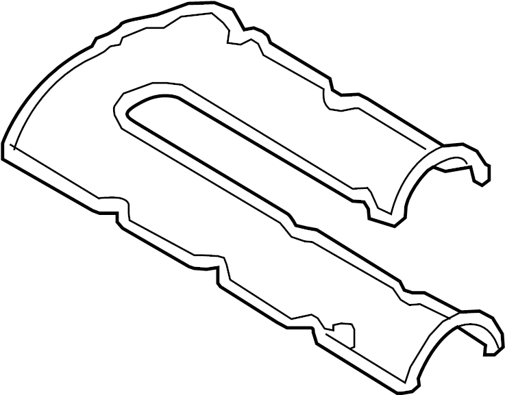 Ford Fusion Engine Valve Cover Gasket. 1.5 LITER. Fusion