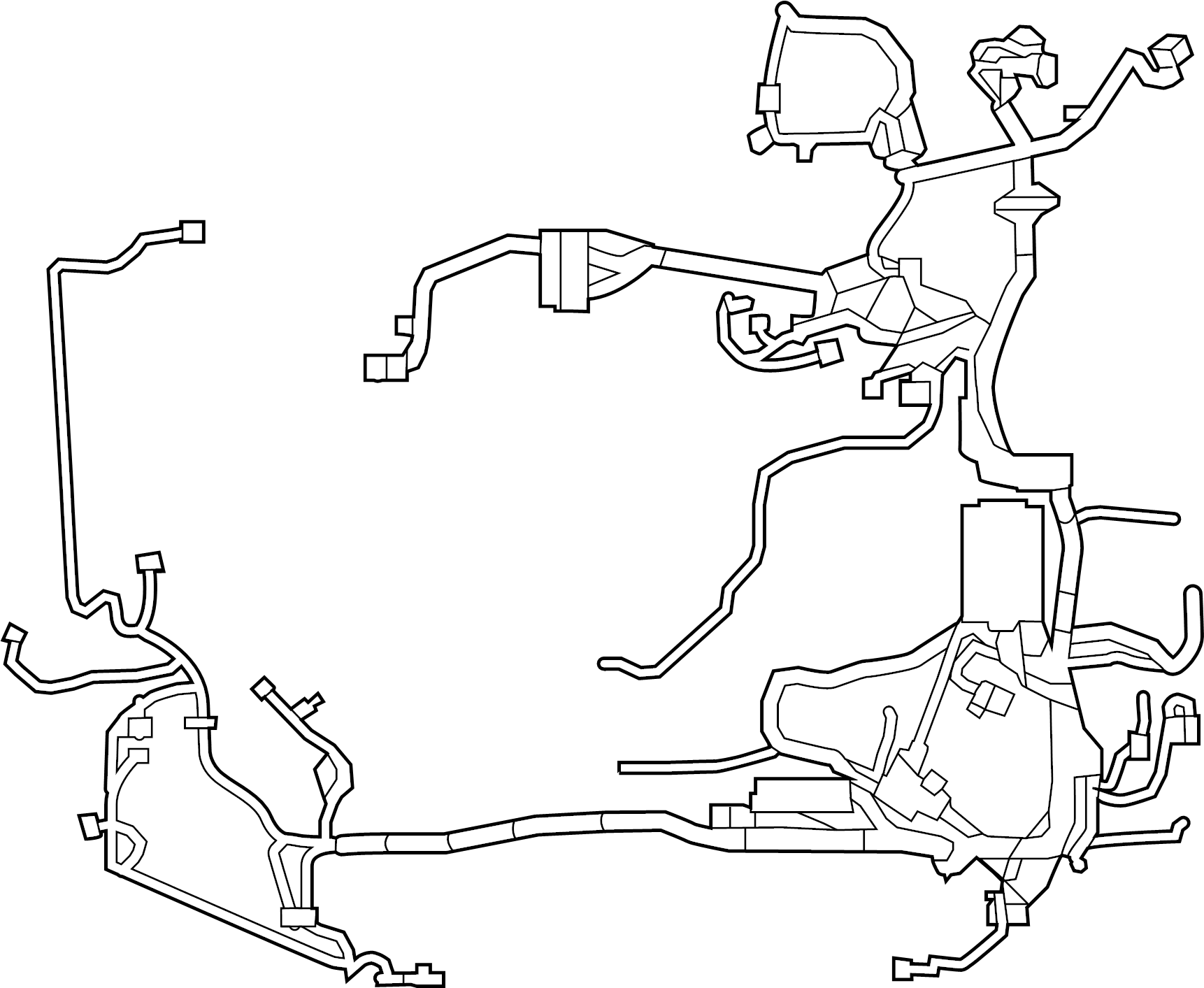 Ford Fusion Engine Wiring Harness