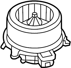 Ford Fusion Hvac blower motor. Hvac blower motor. Motor
