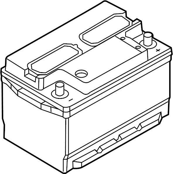 Ford Mustang Vehicle Battery. Power Source. Liter, Amp