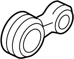 Ford Fusion Engine Support Rod. LITER, TRANS, Strut
