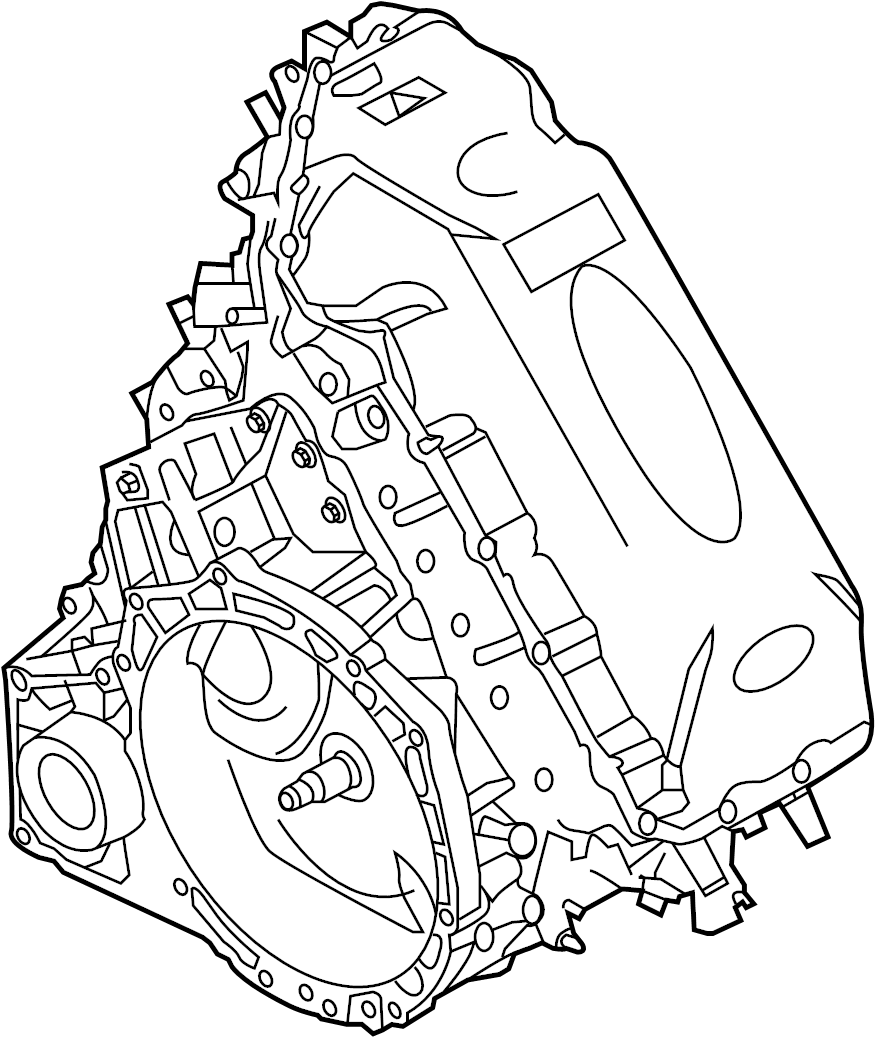 2010 Ford Fusion Hybrid Engine Parts Diagram