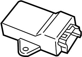 Ford Explorer Seat Heater Control Module. Left, SEATS