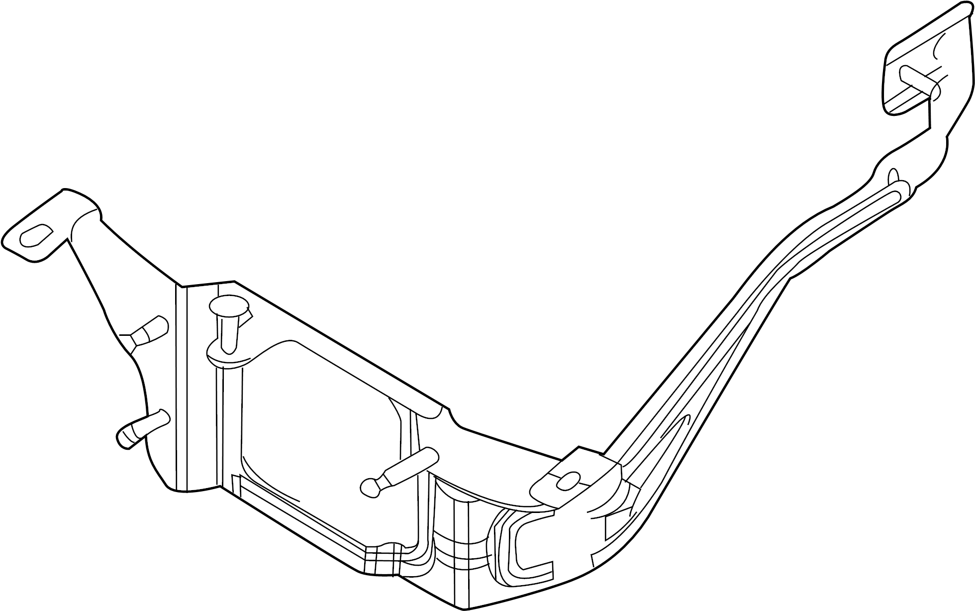 Ford Taurus Cruise Control Distance Sensor Bracket