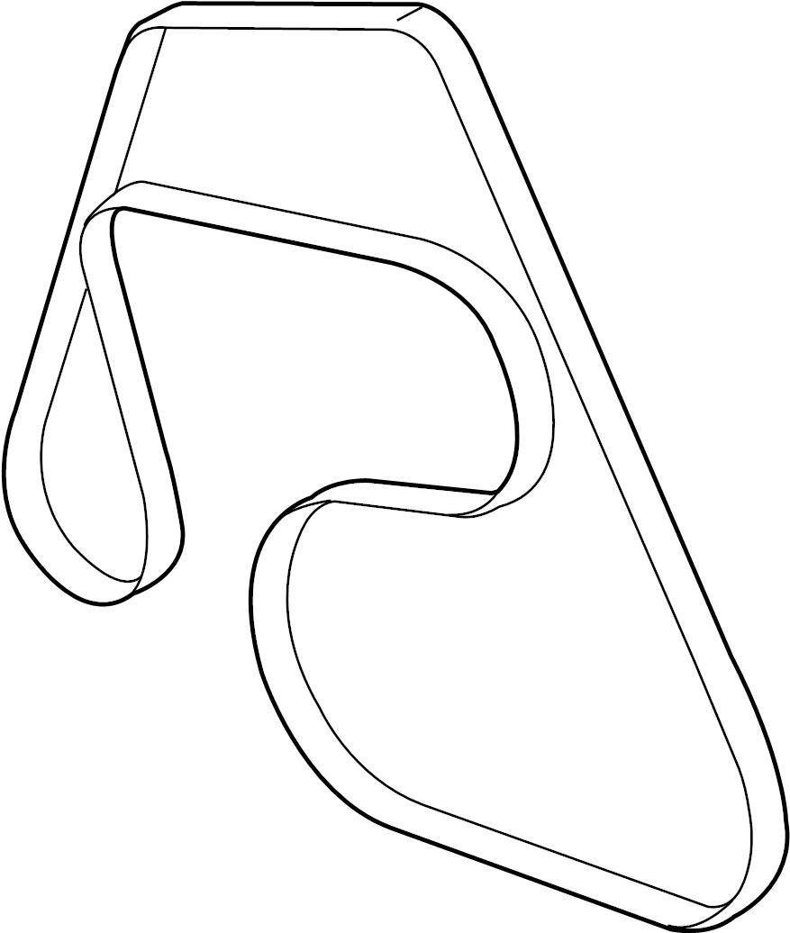 Ford Crown Victoria Serpentine Belt. Drive, SOHC, Having