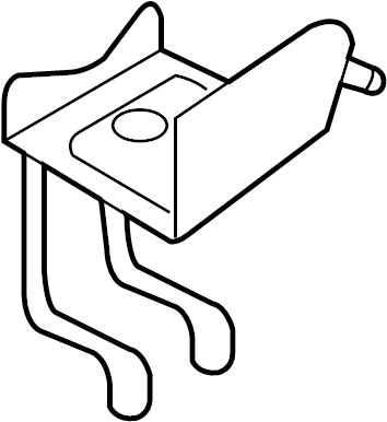 Ford Taurus Abs control module bracket. Abs modulator
