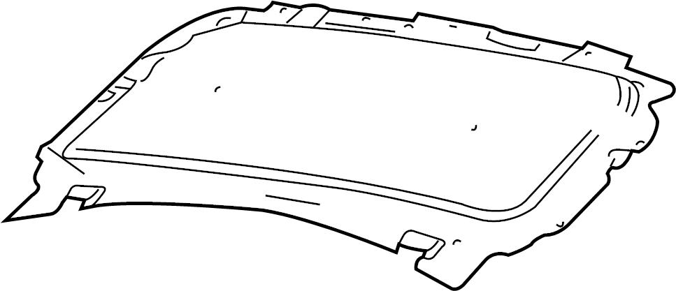 2007 Ford F-150 Hood Insulation Pad. Hood Insulation Pad