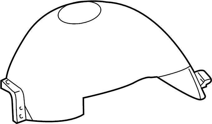Ford F-150 Liner. Shield. Fender. Splash. FRONT, Left