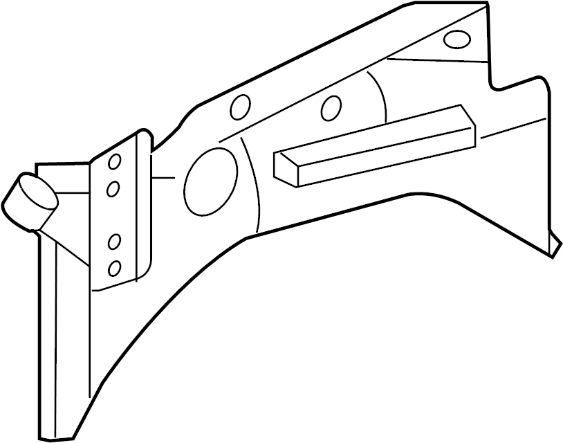 1997 Ford F-250 Rail. Panel. (Front, Rear, Upper, Lower