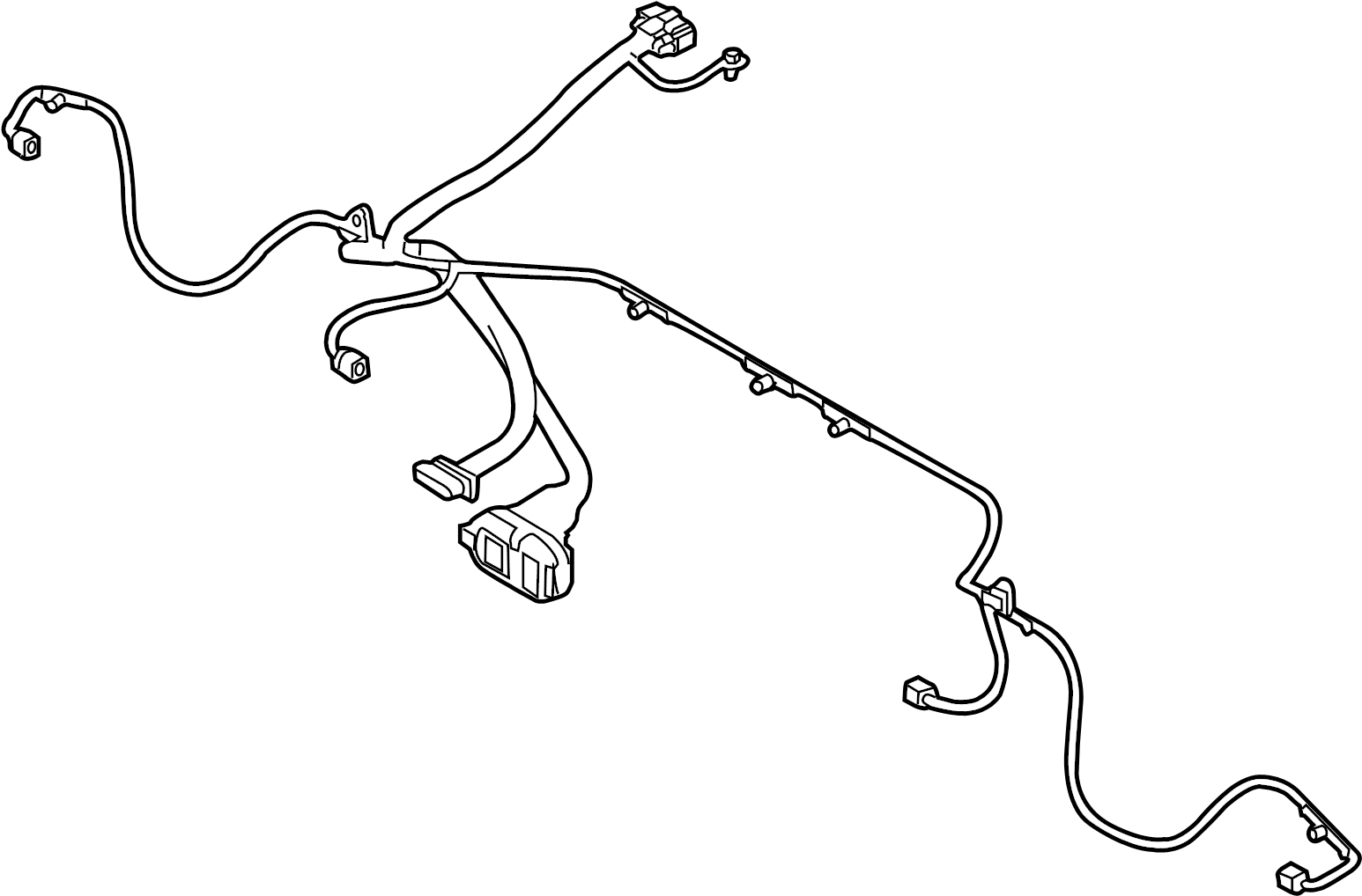 Tow Wire Harness Connectors