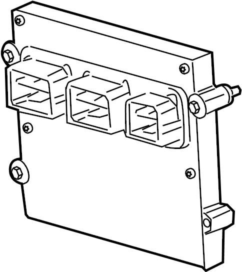 Ford F-150 Engine Control Module. 5.4 LITER, code FMP2