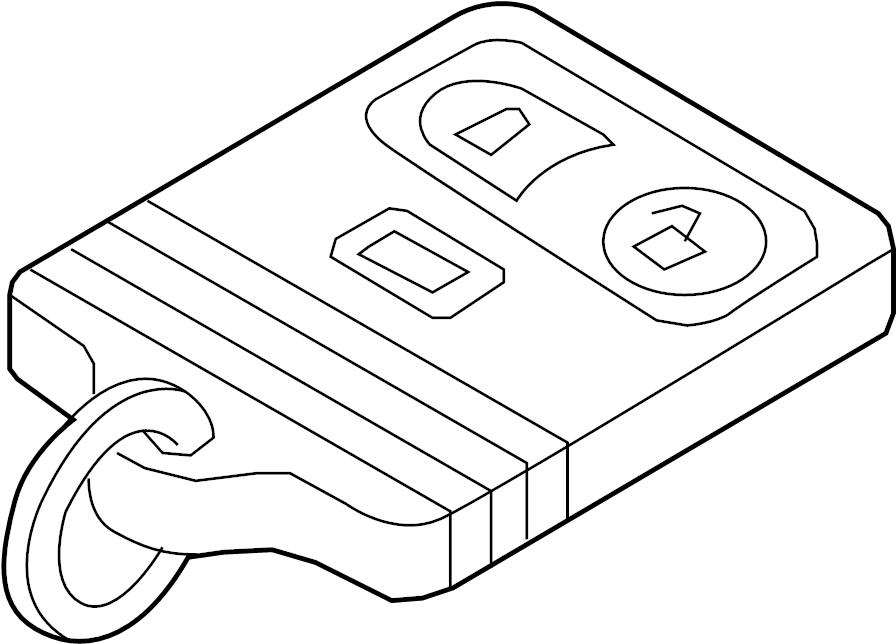2015 Ford Police Interceptor Utility Remote control system