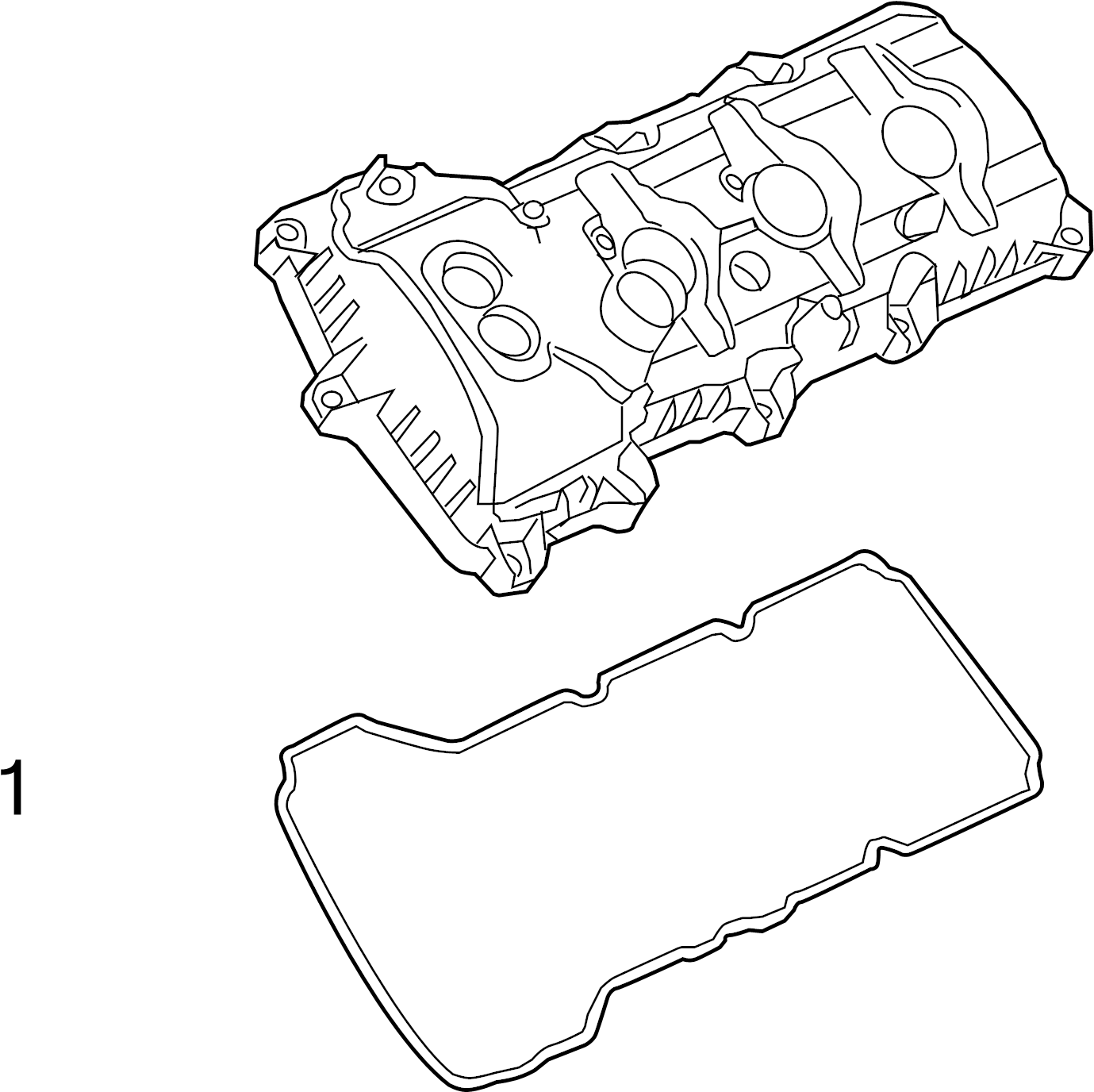 Ford Explorer Engine Valve Cover Gasket