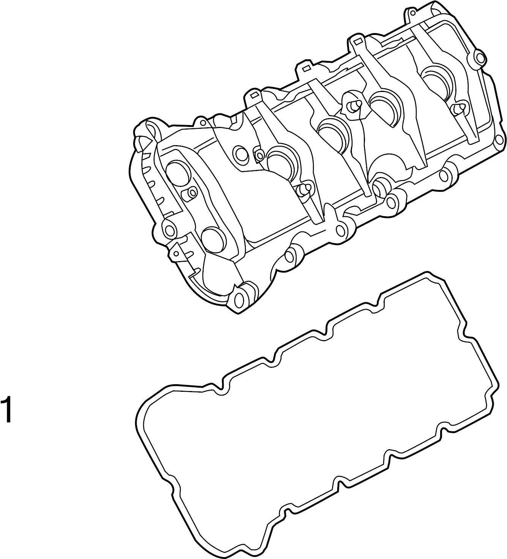 Ford F-150 Engine Valve Cover Gasket. 5.0 LITER. F150