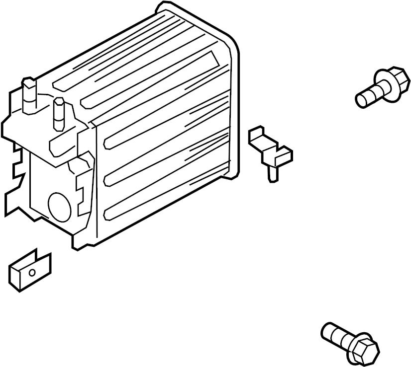 Ford F-150 Vapor Canister. LITER, EMISSION, SYSTEM