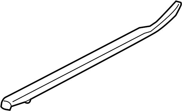2013 Ford F-150 Belt. Regulator. Molding. WeatherStrip