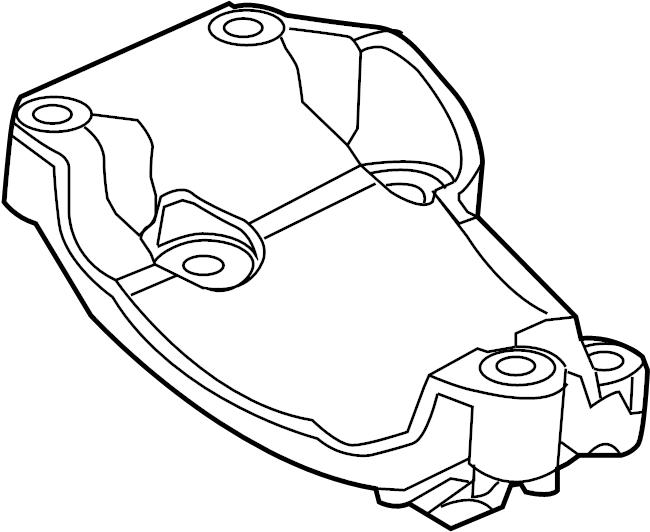Ford F-250 Super Duty Cylinder block. F150. F250, f350