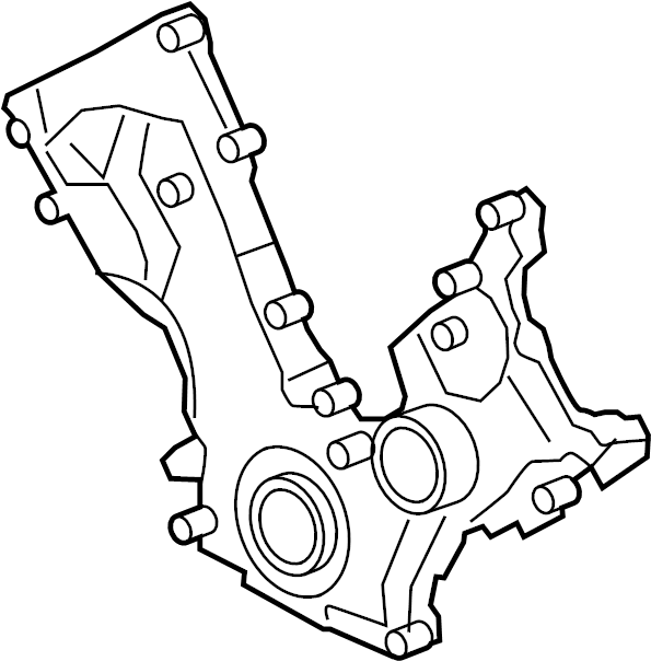 Ford Expedition Engine Timing Cover Gasket (Front