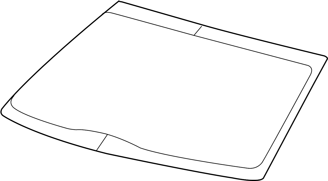 2012 Ford F-150 Windshield Glass. Ford, w/rain sensor, to