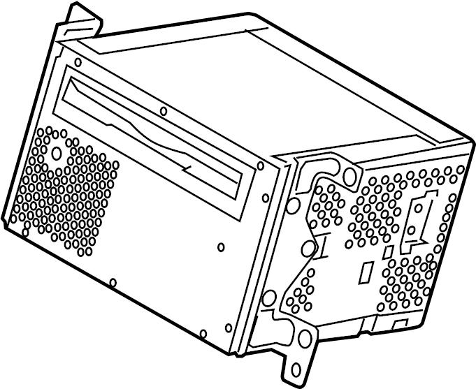 2014 Ford F-150 Am/fm radio. Radio control unit. Receiver