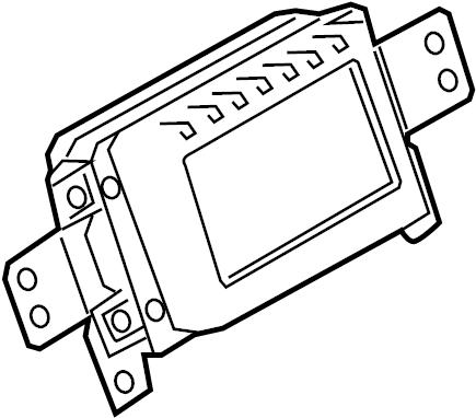 Ford F-150 Radio Module Interface. W/interface 3. W