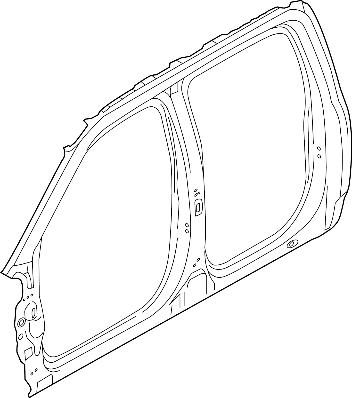 Ford F 150 Aperture Panel Frame