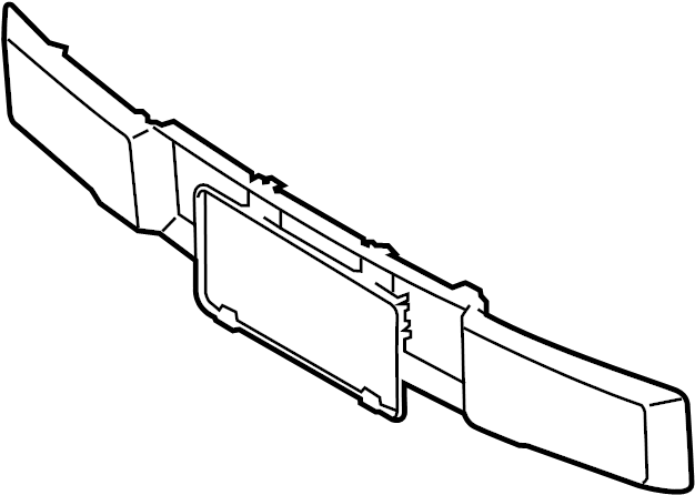 2016 Ford F-150 Bumper Trim (Front, Lower). MOLDING