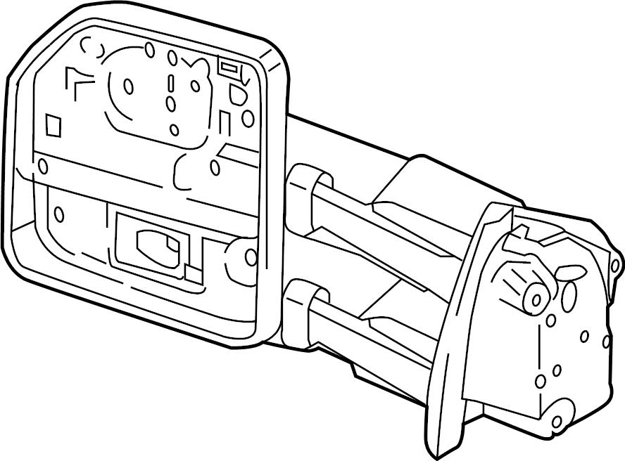 2016 Ford F-150 Door Mirror (Rear). Camera, Side, TRAILER