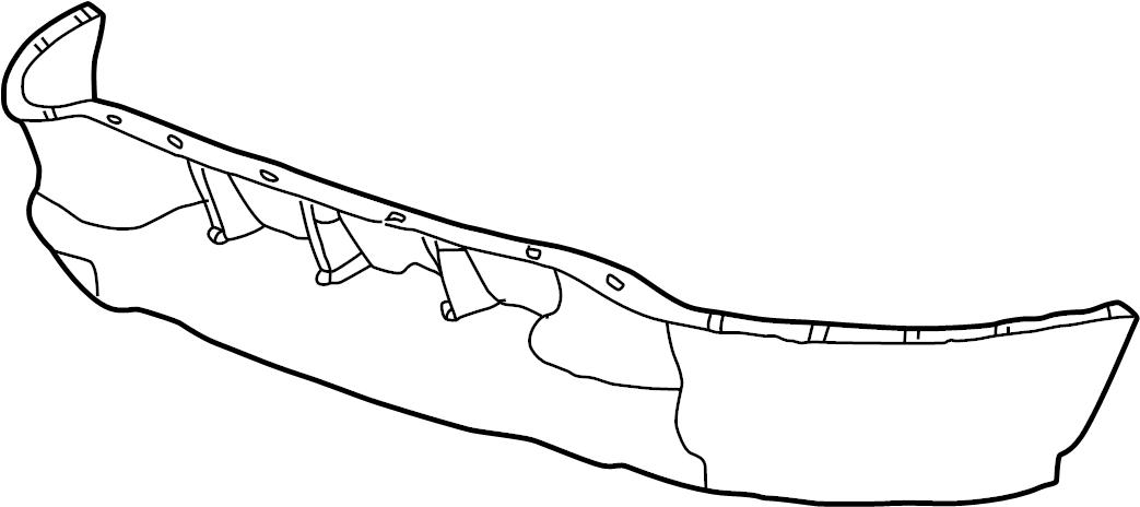 Ford F-150 Valance Panel (Lower). W/O LIGHTNING & SVT