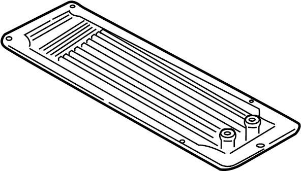 2002 Ford F-150 Cooler ASSEMBLY gasket. 4.6 & 5.4 LITER