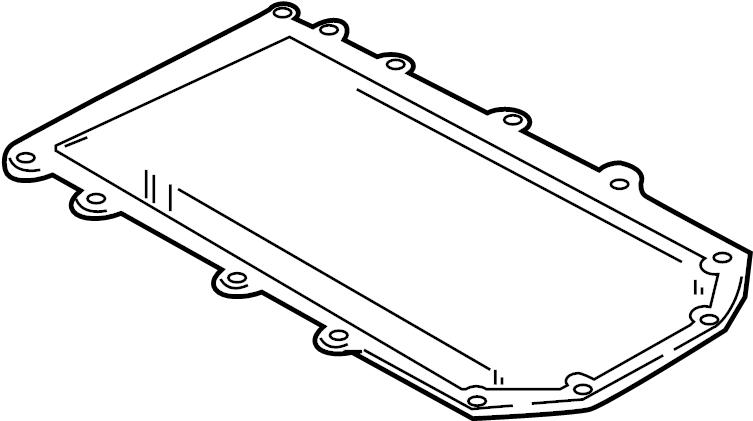 Ford F-150 Intake manifold gasket. 4.6 & 5.4 LITER, lower