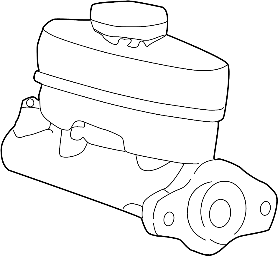 Ford F-150 Brake Master Cylinder. CAB, Control, Cruise