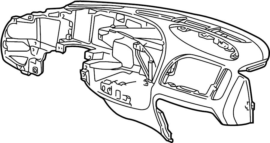 Ford F-250 Dashboard Panel. Instrument, Make