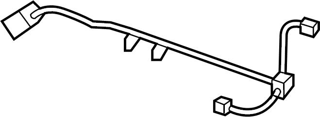 Ford F-150 Wire harness. W/HARLEY DAVIDSON, 2002-03, w/o