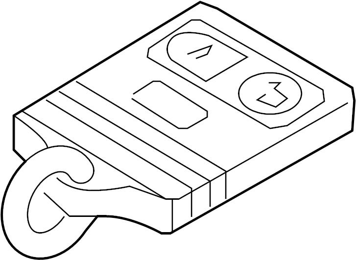 Ford F-150 Keyless Entry Transmitter. Interceptor, System