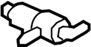 2003 Ford Explorer Purge solenoid. Solenoid. Solenoid asy