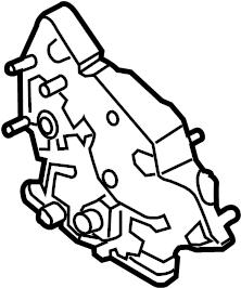 2014 Ford Hvac. Cam. Air adjustment control motor. Heater