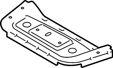 2014 Ford Frame. Bracket. Seat. (Right, Front, Rear