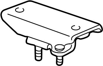 Ford E-250 Econoline Manual Transmission Mount (Front