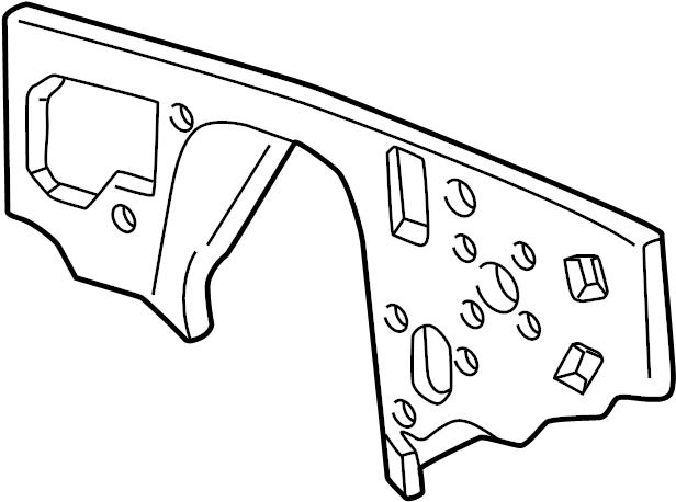 1994 Ford E-250 Econoline Dash panel. Firewall. Gas 4.9 5