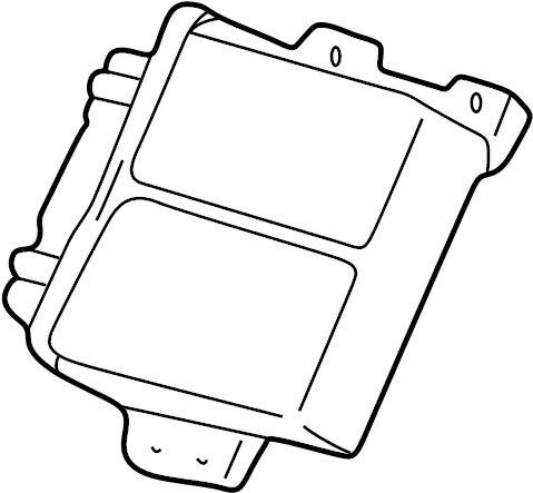 1994 Ford E-350 Econoline Control module. Control valve