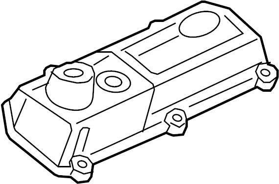 1999 Ford E-150 Econoline Club Wagon Engine Valve Cover