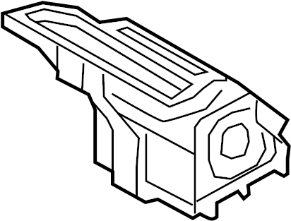 Ford F-150 Duct. Air. (Rear, Upper). AUTO, ZONE, Plenum