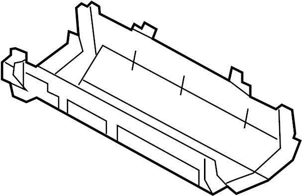 Ford F-150 Cover. Panel. Fuse. ENGINE COMPARTMENT