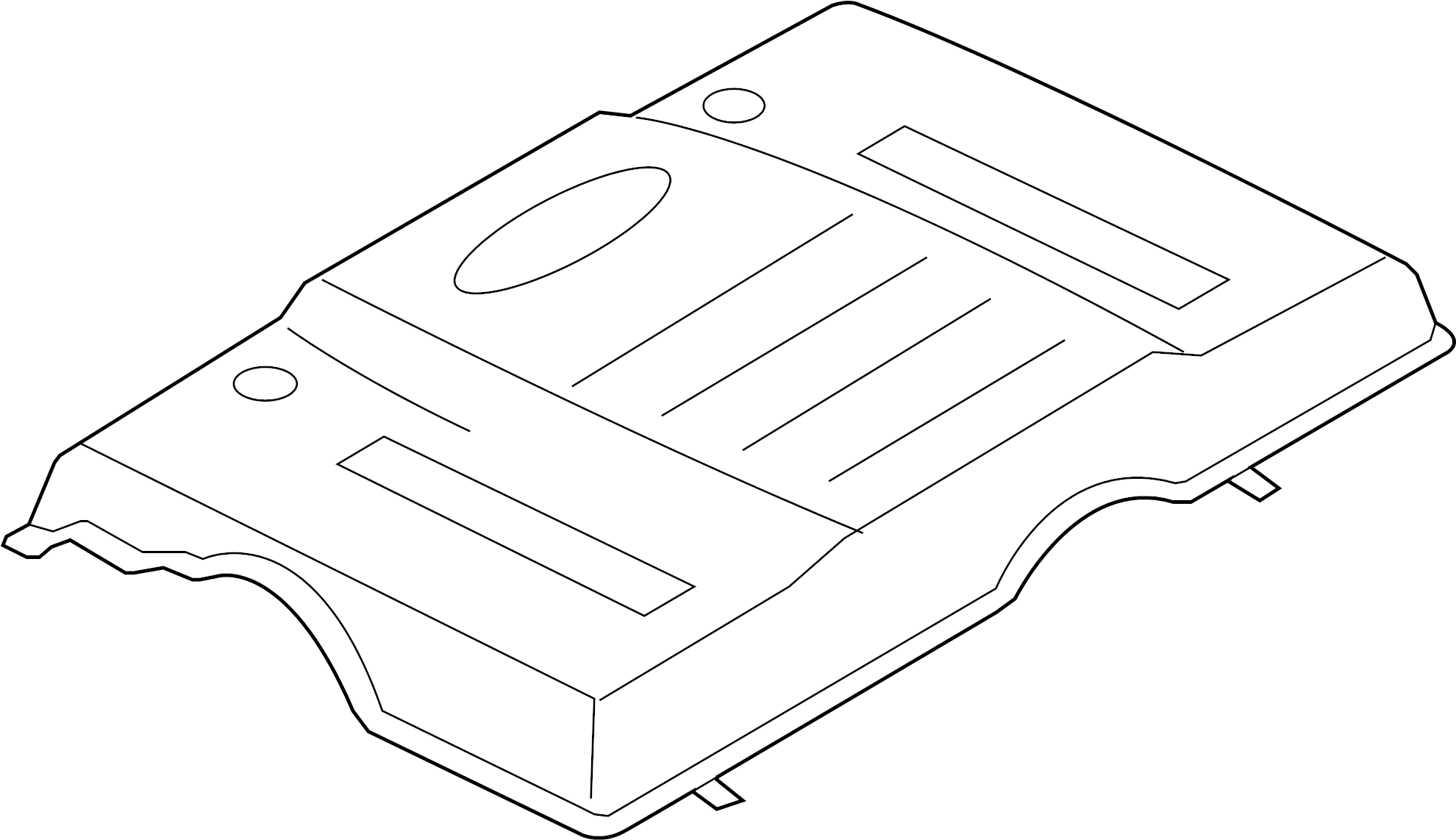 Ford Expedition Engine Cover Liter Appearance