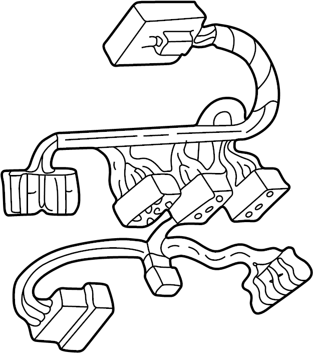 Ford Expedition Wire harness. Included with: Overhead