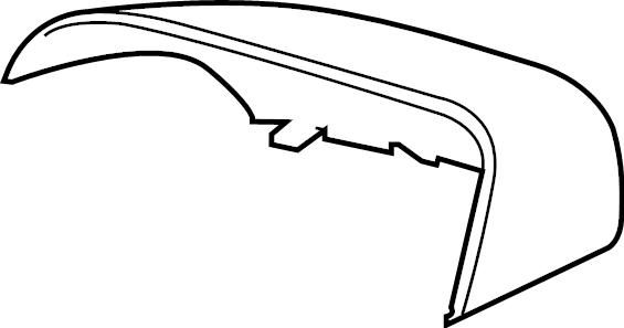 Ford Ranger Door Mirror Cover. MANUAL. POWER, W/BLIND SPOT
