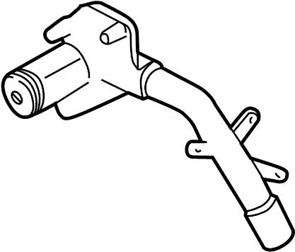 Ford Ranger Engine Coolant Pipe. LITER, Hose, Cooling