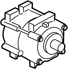 Ford Escape A/c compressor. Liter, air, repair