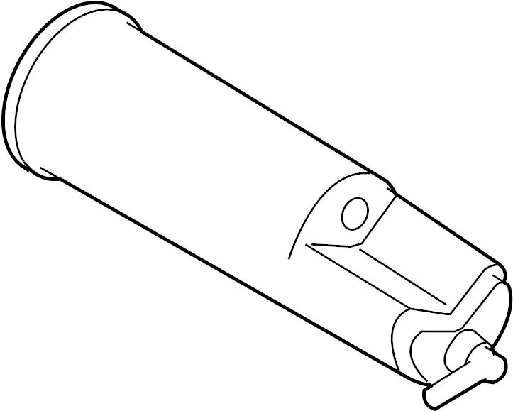 Ford Ranger Vapor Canister. LITER, Bracket, EMISSION